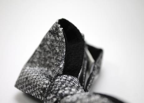 蝶ネクタイ KIMONO fabric 白蛇柄 西陣織 帯地 上京蝶帯 #585