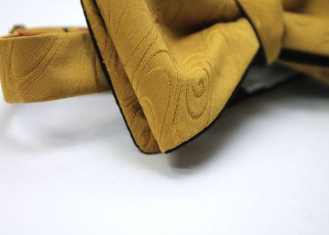 蝶ネクタイ KIMONO fabric 観世水 流水文様 西陣織  上京蝶帯 #597