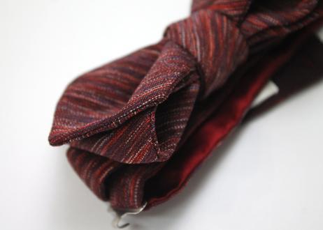 蝶ネクタイ Import fabric フランス製ビンテージファブリック 上京蝶帯 #590