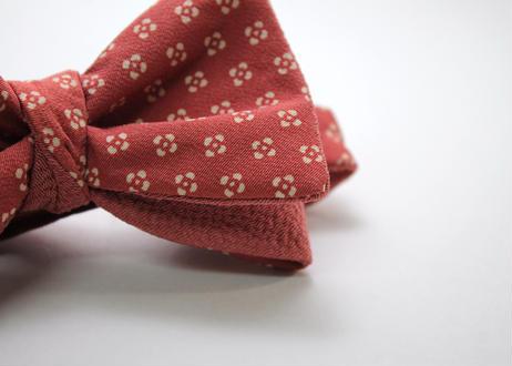 蝶ネクタイ KIMONO fabric 型友禅  上京蝶帯 #627
