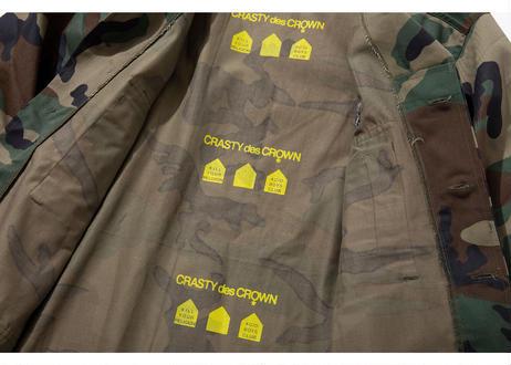 CRASTY des CROWN|ミリタリーシャツ
