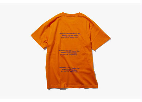 PAPER MIC × LEGALIZE カスタムTシャツ  ORANGE