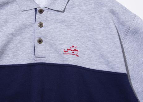 LEGALIZE TOKYO ARABIC スウェットボタンフライシャツ