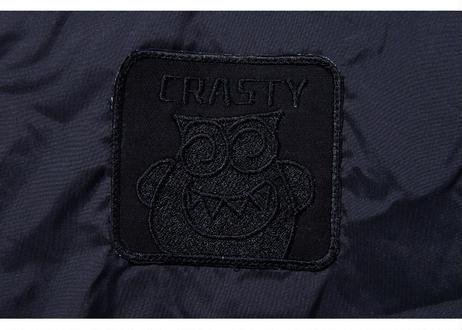 CRASTY des CROWN ナイロンコーチジャケット