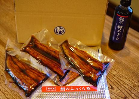 鰻のふっくら煮(3枚入)+神のタレ(1本)