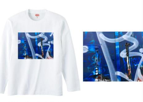 川本真琴撮影 ニューヨークTシャツ(長袖)ブルー