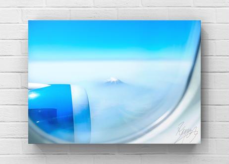 機窓から贈る富士山