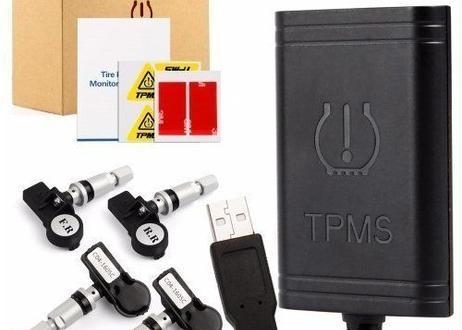 タイヤ 空気圧警報システム 4センサー タイヤ警報セキュリティシステム