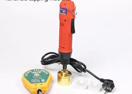 キャップ締め機 スクリューキャッパー 対応キャップサイズ10mm-50mm