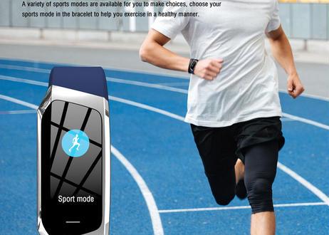 Android iOS  Bluetooth 男性 女性 スマートウォッチ
