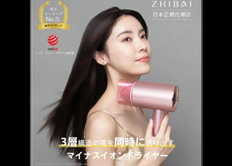 ZHIBAI マイナスイオンヘアドライヤー