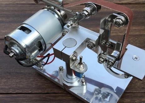 WW-24V 100ワット 職業 ナイフ削り 仕事 シャープナイフ & ツール削り ベース付き 研磨 ベルト