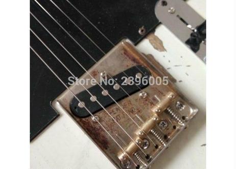 テレキャスター テレキャス 白 ジェフベック レプリカ エクスワイア 1954 ヤードバーズギター エレキギター バンド ロック