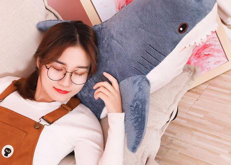 100cm ビッグサイズ サメ ぬいぐるみ 枕 クッション 子供