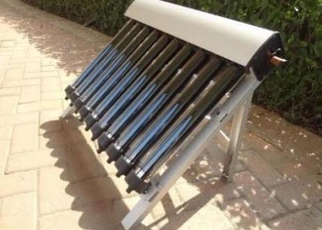 ソーラー温水器 10真空管 ヒートパイプ真空管 太陽熱温水器 ソーラーコレクター