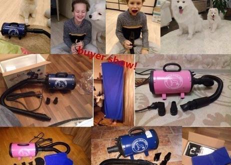 日本国内仕様110V ペット用ドライヤー グルーミング 速乾 犬 猫 プロ 業務 家庭