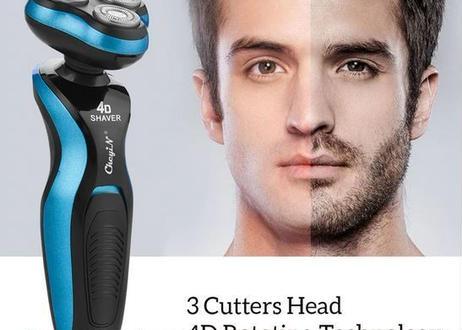 髭剃り 電気シェーバー トリプル刃 男性 充電式 シェービング 髭トリマー 鼻毛トリマー