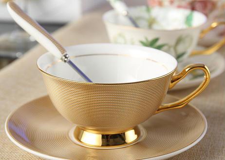 ヨーロッパ風コーヒーカップ & ソーサースプーンセット  200ml