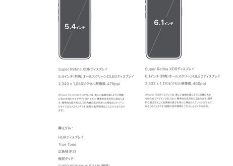 Apple iPhone 13 mini SIMフリー 128GB iOS 5G 電話 カメラ 5.4インチ 携帯電話 スマホ 先進的なデュアルカメラシステム