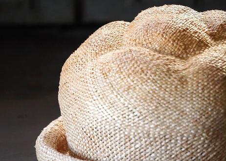 麦わらシュークリームハット