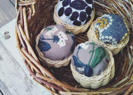 針山かご編みキット / Basket Moon