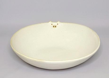 あにまるボウル(浅鉢/深皿)/ブヒ