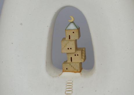 積み木の家 A / 花器
