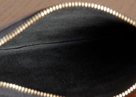 バッファロー革 スリムレザーペンケース M