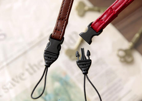 《Horse Leather》ミラーレス&コンパクトカメラ用 レザーハンドストラップ