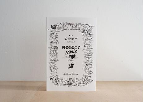 『Nobody Loves You(ノーバディは君に首ったけ)』特製巾着カバー付   サマタマサト