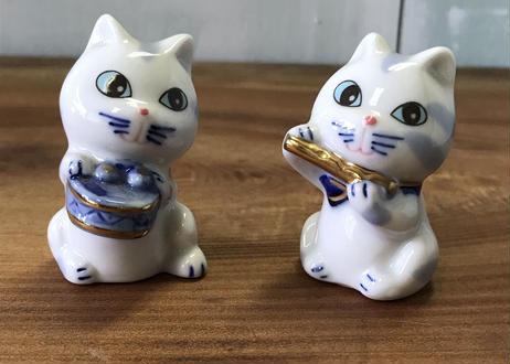 子猫の置物セット