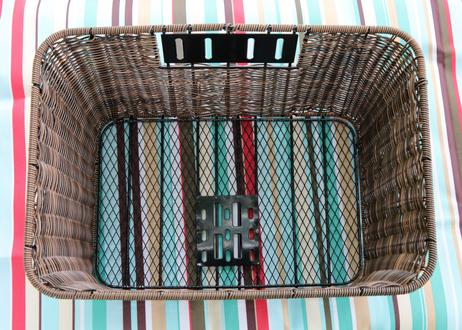 ワイドバッグ(レッド)+ 藤風ワイドバスケット セット