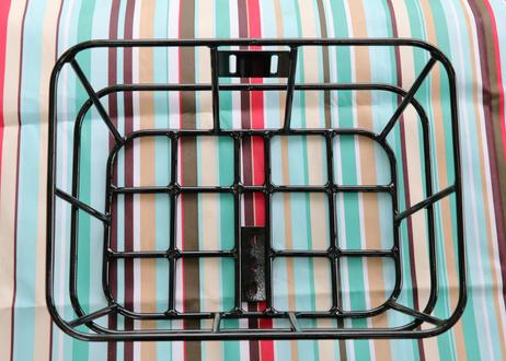 ワイドバスケット(カーキ)+ アルミバスケット (ブラック) セット