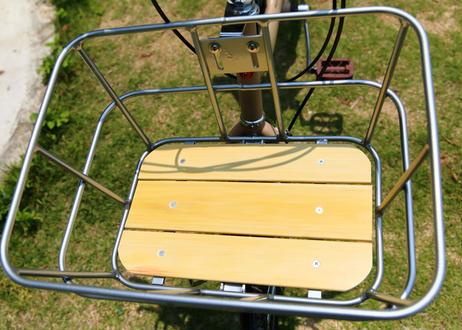 ワイドバッグ(レッド)+   アルミ樹脂製底板バスケット(シルバー)セット