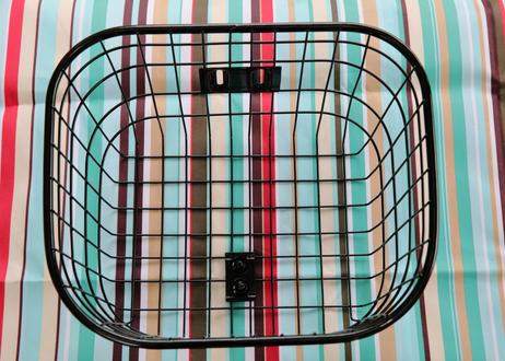 レギュラーバッグ  (カーキ)  + 楕円パイプワイヤーバスケット