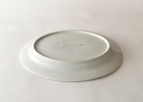 C015 白磁オーバル(大)