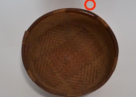 E005 二重編みかご(竹)