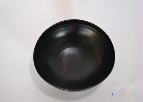 P 臼杵春芳007 ボウル(黒/漆の木)