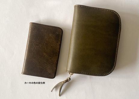 P 一粒舎 aren wide pocket(ブラック / ダークブラウン  / カーキ)