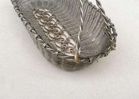 F026 錫のミニバスケット