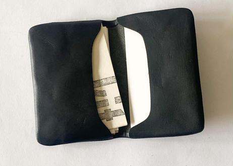 一粒舎 cardcase(ブラック)