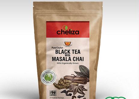 チェリーザ  オーガニックブラックティー&マサラ・チャイ