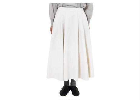 別珍タックフレアースカート