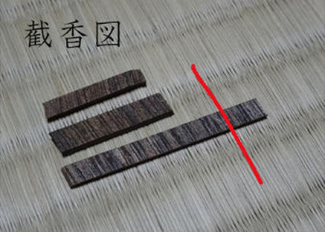 香木 仮銘「にごらぬ波」伽羅 0.25g