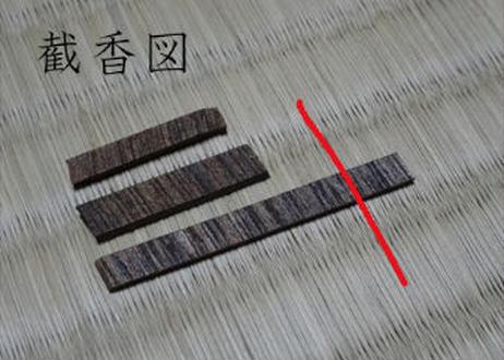 香木 仮銘「こり咲く梅」 伽羅(沈香) 0.25g