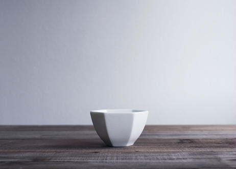 【atelier七緒】六角小鉢 (白磁/飴釉/ルチール)