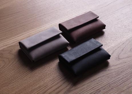 R.BROWN Labo カードケース(グレー/ブラウン/ブラック)