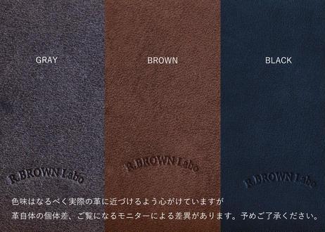 R.BROWN Labo キーホルダー(グレー/ブラウン/ブラック)