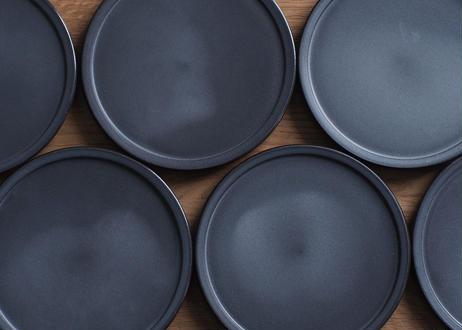 【3RD CERAMICS】黒泥皿 4.5寸