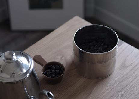 置いててサマになるブリキの丸缶(大)
